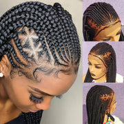 Braided Wig, triangle cornrow 16 inches inches. Braidwig, Braidswig. Full lace wig.