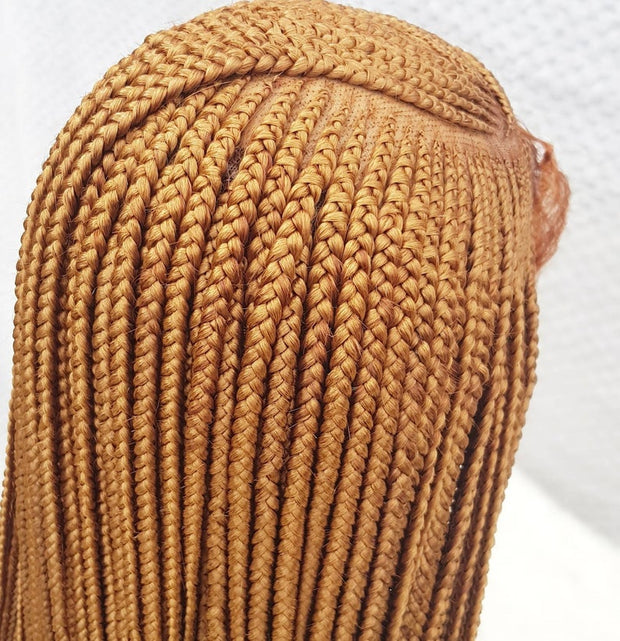 Full Frontal Lace Cornrow , Braidwig, Braidswig. 26inches