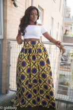 Load image into Gallery viewer, Abobo African Maxi Skirt