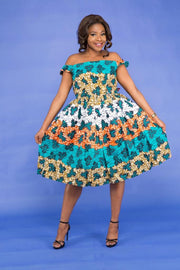 Belabo African Dress - HouseOfSarah14