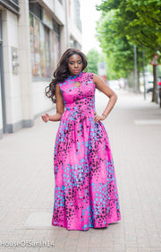 HouseOfSarah14 Bouda Maxi Dress