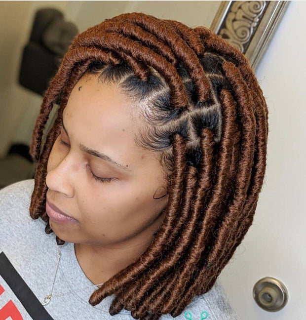 Locs wig, Fully Handmade, Dreadlocks/ Dreadlocks wig/Faux Loc Extension/ Crochet Braids
