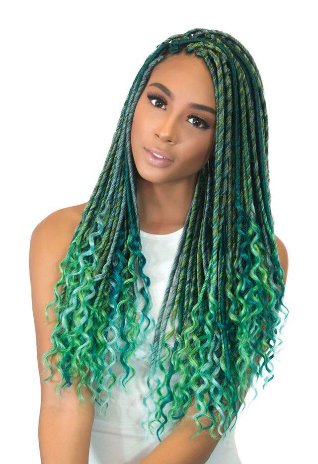 18 Inches Faux Loc Dreadlocks / Handmade/ Dreadlocks wig/Faux Loc Extension/ Crochet Braids