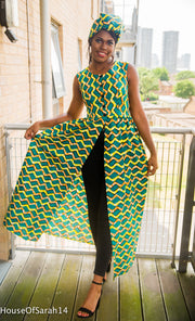 Fanta African Print Top/Dress