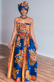 Bamenda African Maxi Dress-HouseOfSarah14