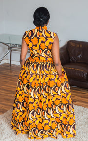 Dosso African Maxi Dress-HouseOfSarah14