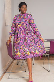 Choupi African Midi Dress-HouseOfSarah14