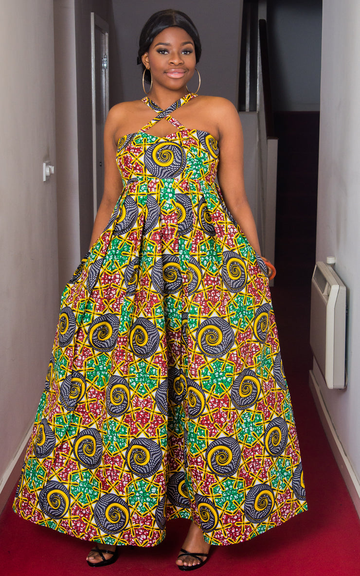 Shalom African Maxi Dress-HouseOfSarah14