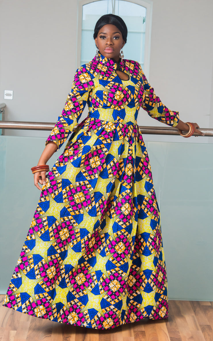 Deido African Maxi Dress-HouseOfSarah14