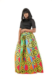 Sunshine African Maxi Skirt - HouseOfSarah14