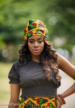 Load image into Gallery viewer, Zuimanto African Print Headwrap