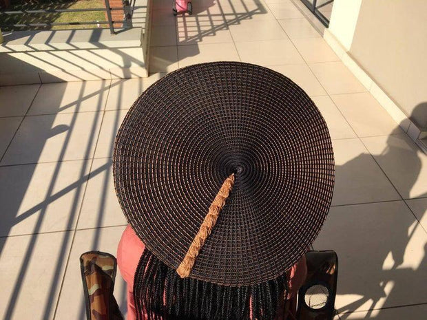 Traditional Zulu Isicholo Bucket Hat