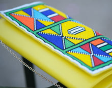 Load image into Gallery viewer, Ana Zulu Beaded Clutch |Women clutch| Beaded Wallets