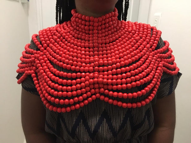 Cleopatra Layered Tribal Necklace