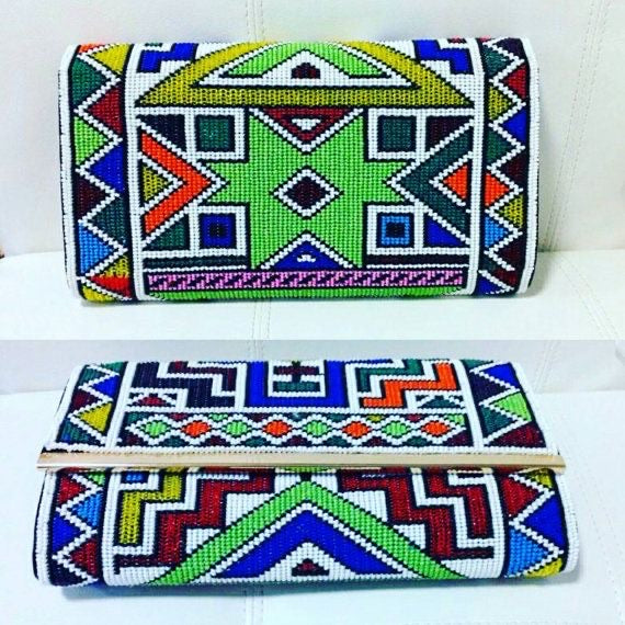 Zulu Beaded Clutch |Women clutch| Beaded Wallets