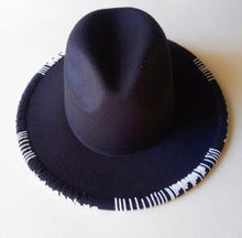 Load image into Gallery viewer, RIM Beaded Fedora Hat