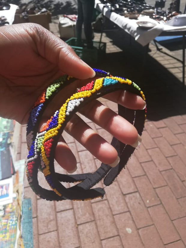 Zulu Beaded Head Piece