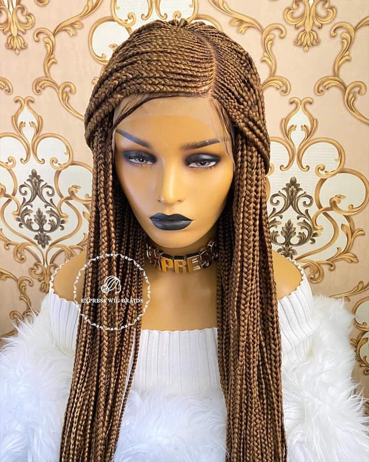 Cornrow Braided Wig, Braidwig, Braidswig. 12/14inches.