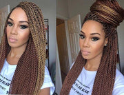 20 Inches Faux Lock Senegalese Twists/ Handmade/ Senegalese Twists/Faux Loc Extension/ Crochet Braids