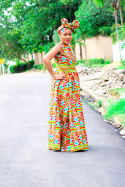 Yan Kente Maxi Dress