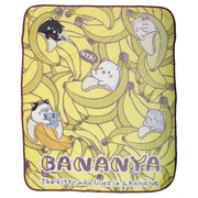 Bananya Fleece Throw Blanket - A2Depot