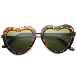 Cute Heart Shape Fashion Sunglasses 9929 - A2Depot