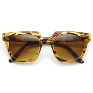 Open image in slideshow, Designer Fashion Horned Rim Indie Sunglasses 8831 - A2Depot