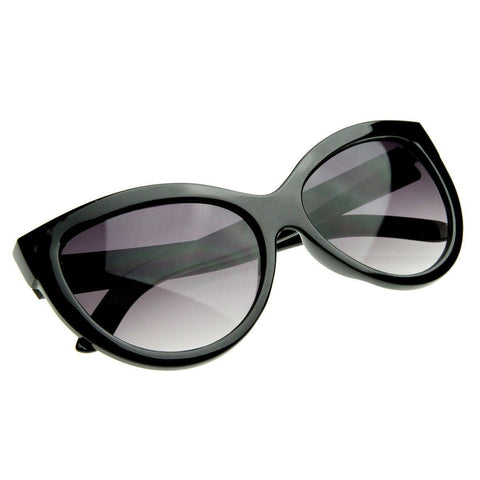 Designer High Temple Modern Cat Eye Sunglasses 8217 - A2Depot