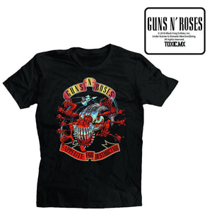Open image in slideshow, Guns N Roses Adf Avengers Banner Toxic T-Shirt - A2Depot