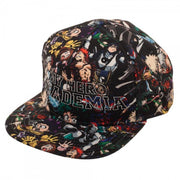 My Hero Academia High Density Sublimated Snapback Hat-Snapback Hat-My Hero Academia-A2Depot