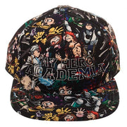 My Hero Academia High Density Sublimated Snapback Hat - A2Depot