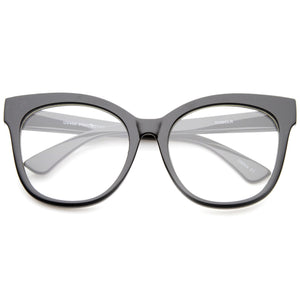 Open image in slideshow, Oversize Retro Clear Lens Glasses A835 - A2Depot