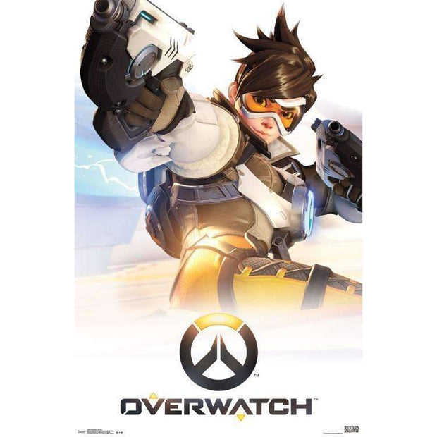 Overwatch Tracer Poster - A2Depot
