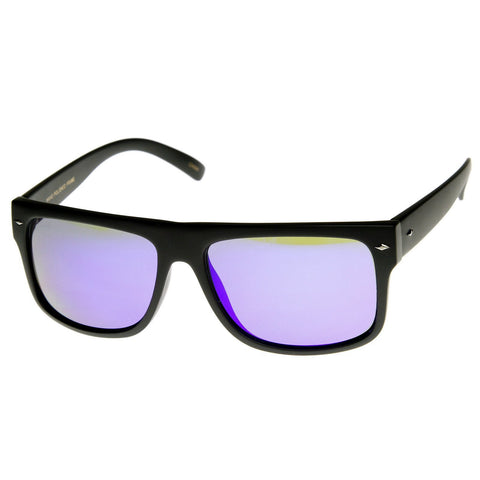 Premium Men's Action Sports Mirror Lens Sunglasses 8884 - A2Depot