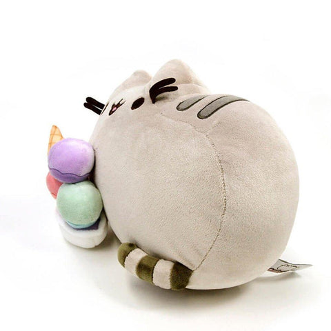Pusheen Snackable Sundae Plush Stuffed Animal 12-Inch-Plushes-Pusheen the Cat-A2Depot