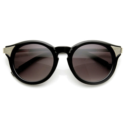 Retro P3 Round Circle Fashion Cat Eye Sunglasses 8986 - A2Depot