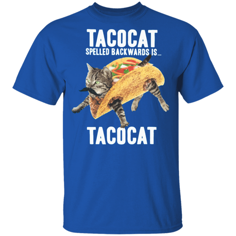 Tacocat Spelled Backwards Kids Tee - A2Depot