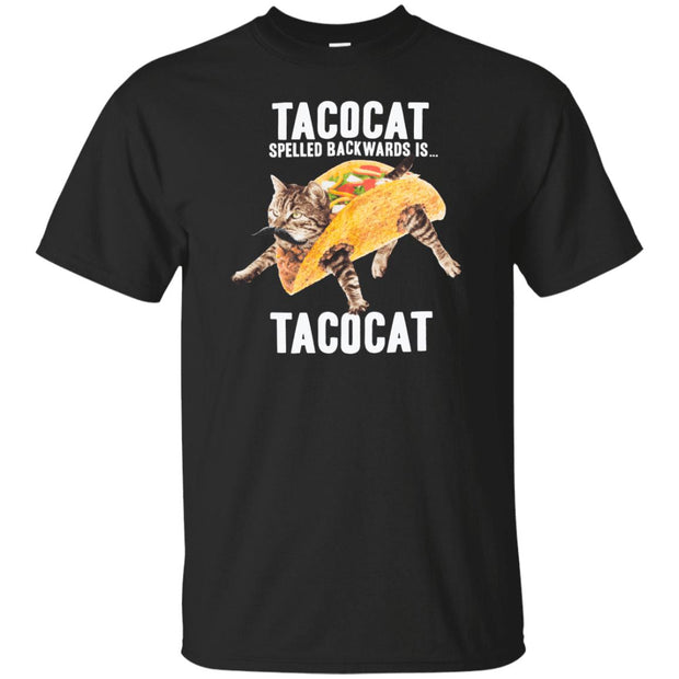 Tacocat Spelled Backwards Youth Tee-T-Shirts-CustomCat-A2Depot