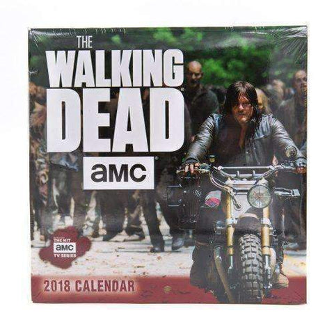 The Walking Dead TWD 2018 Mini Wall Calendar-Accessories-The Walking Dead-A2Depot