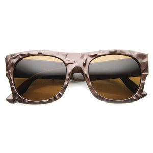 Open image in slideshow, Unique Flat Top Textured Sunglasses 9865 - A2Depot