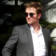Vintage Celebrity Twilight Robert Pattinson Horned Rim Sunglasses 8591