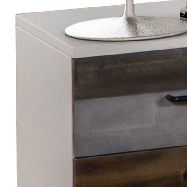 Shelby Bedside Table - 2 Drawers