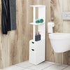 Freestanding Bathroom Storage Cabinet White