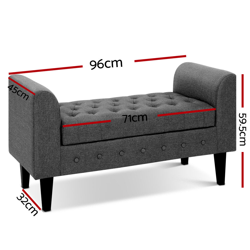 Multi-Functional Storage Ottoman-Furniture, Bedroom-NextFurniture