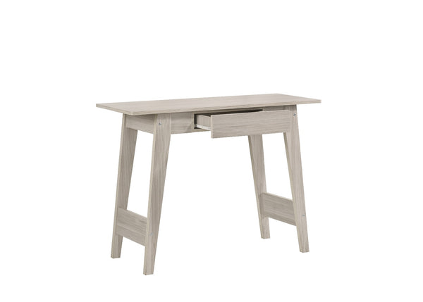 Console Hallway Table In White Oak