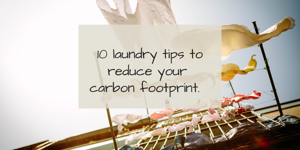 10 Eco friendly laundry tips