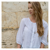 Women's clothing from organic fibres