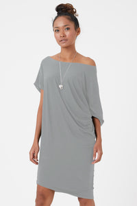 Adelde Dress in Stone
