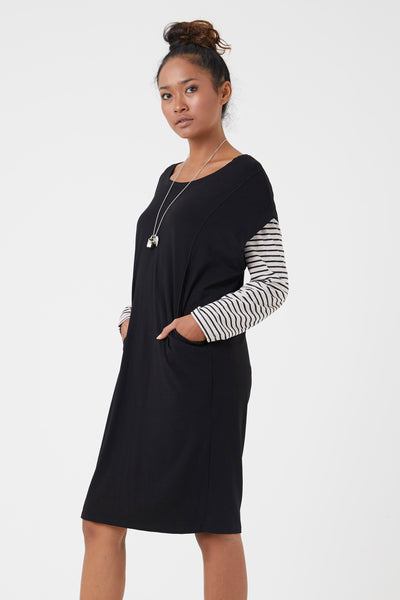 Billie jersey knit tunic