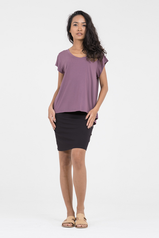 Greta Top in Berry